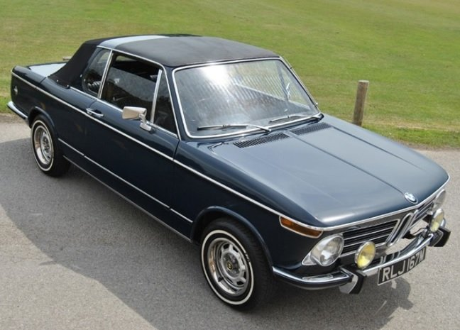1973 BMW 2002 BAUR CABRIOLET - 1 OF 354 RHD CARS For Sale (picture 2 of 6)