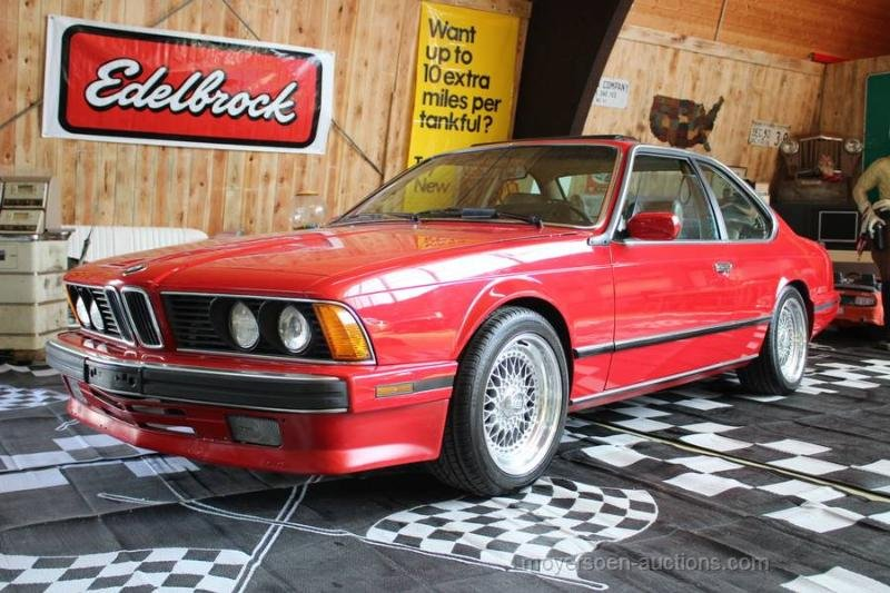 1988 BMW 635 CSI For Sale by Auction (picture 1 of 6)