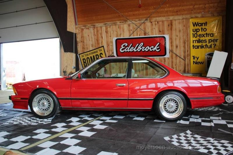1988 BMW 635 CSI For Sale by Auction (picture 2 of 6)