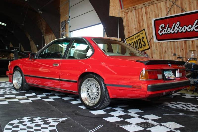 1988 BMW 635 CSI For Sale by Auction (picture 3 of 6)