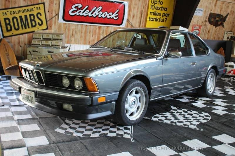 1985 BMW 635 CSI For Sale by Auction (picture 1 of 6)