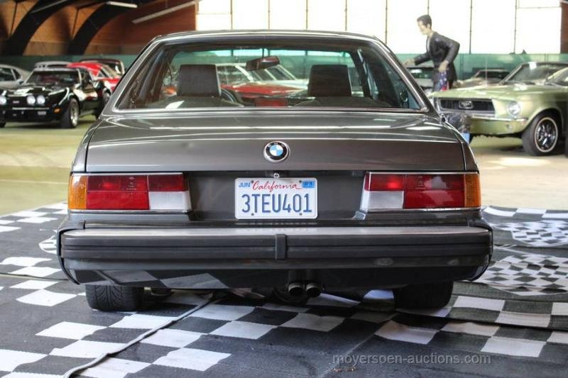 1985 BMW 635 CSI For Sale by Auction (picture 3 of 6)