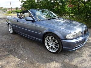 BMW 330ci Convertible 2001 Y Reg 79k Genuine