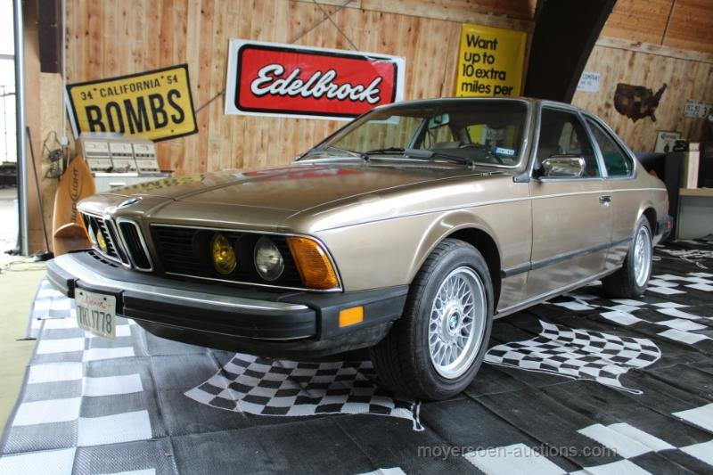 1984 BMW E24 633CSI Coupé  For Sale by Auction (picture 1 of 6)