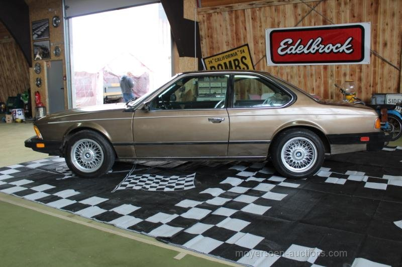 1984 BMW E24 633CSI Coupé  For Sale by Auction (picture 2 of 6)
