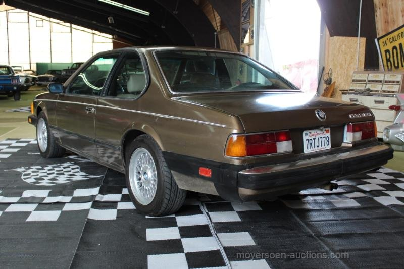 1984 BMW E24 633CSI Coupé  For Sale by Auction (picture 3 of 6)