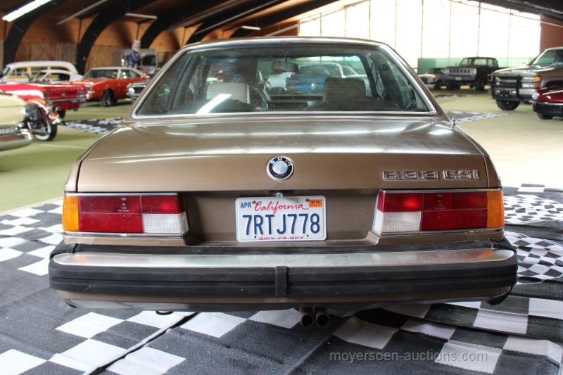 1984 BMW E24 633CSI Coupé  For Sale by Auction (picture 4 of 6)