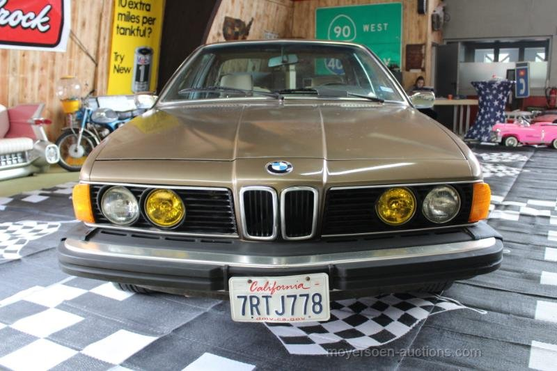 1984 BMW E24 633CSI Coupé  For Sale by Auction (picture 5 of 6)