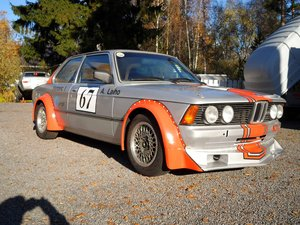 1981 BMW 323 FIA Race car SOLD