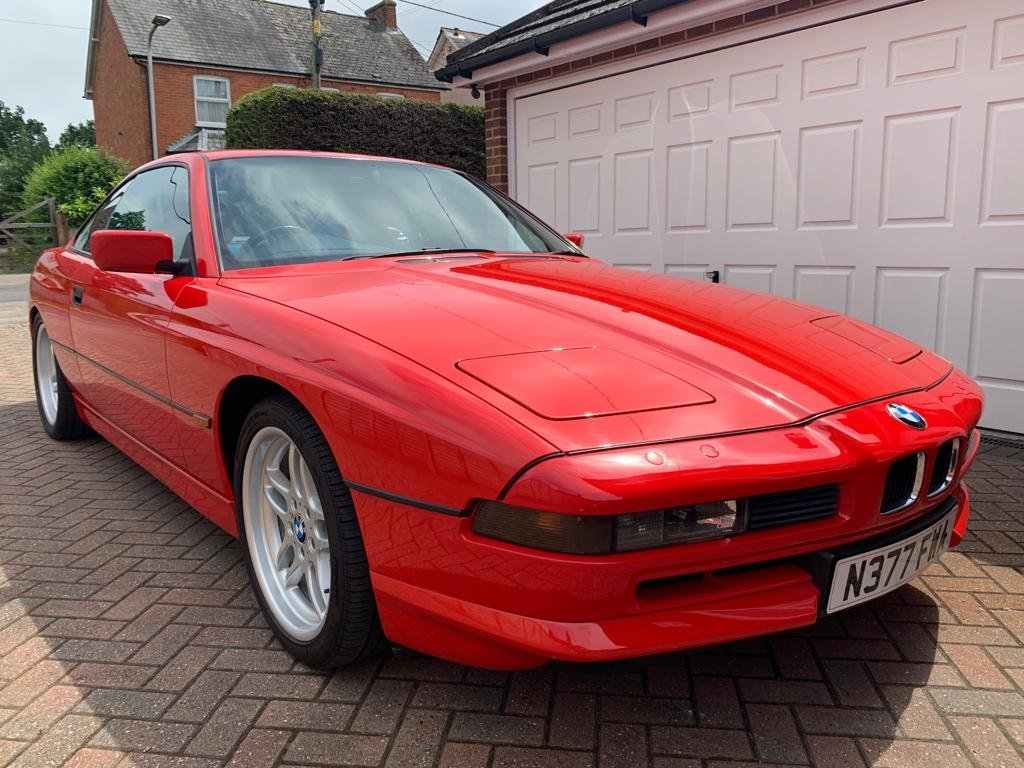 1996 840 ci 4.4 Automatic Red For Sale (picture 1 of 6)