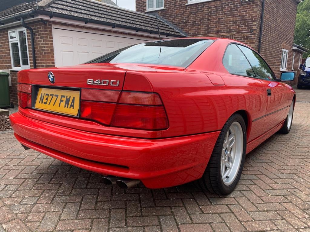 1996 840 ci 4.4 Automatic Red For Sale (picture 2 of 6)
