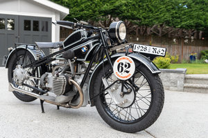 1928 BMW R62 - Cannonball Contender For Sale