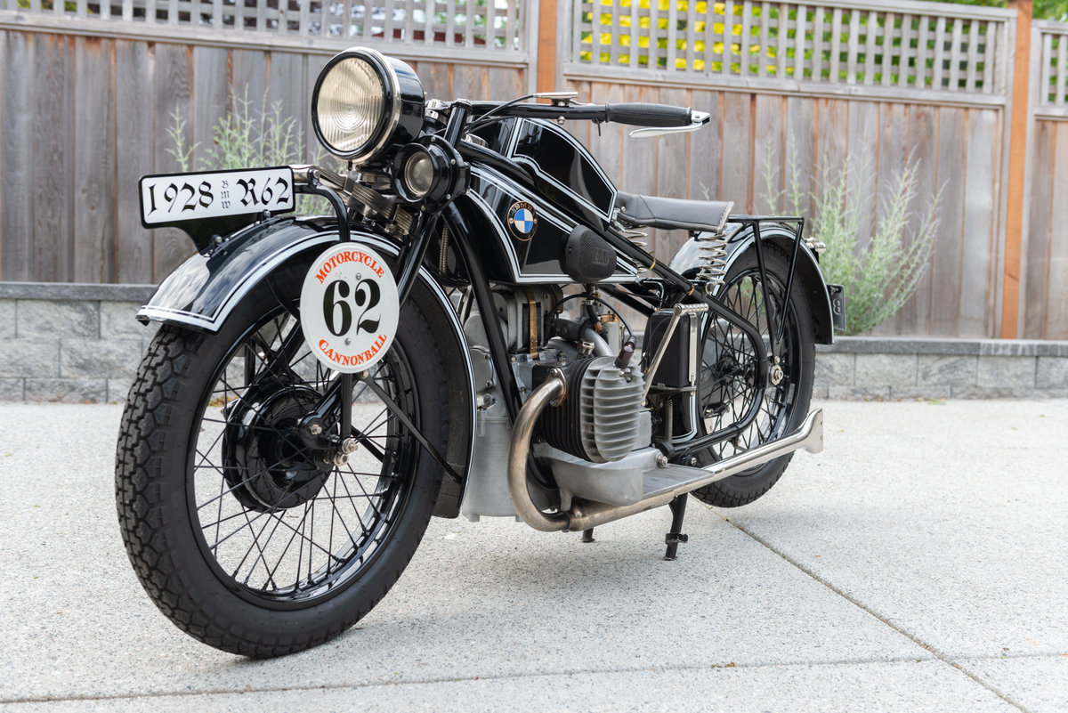 1928 BMW R62 - Cannonball Contender For Sale | Car And Classic
