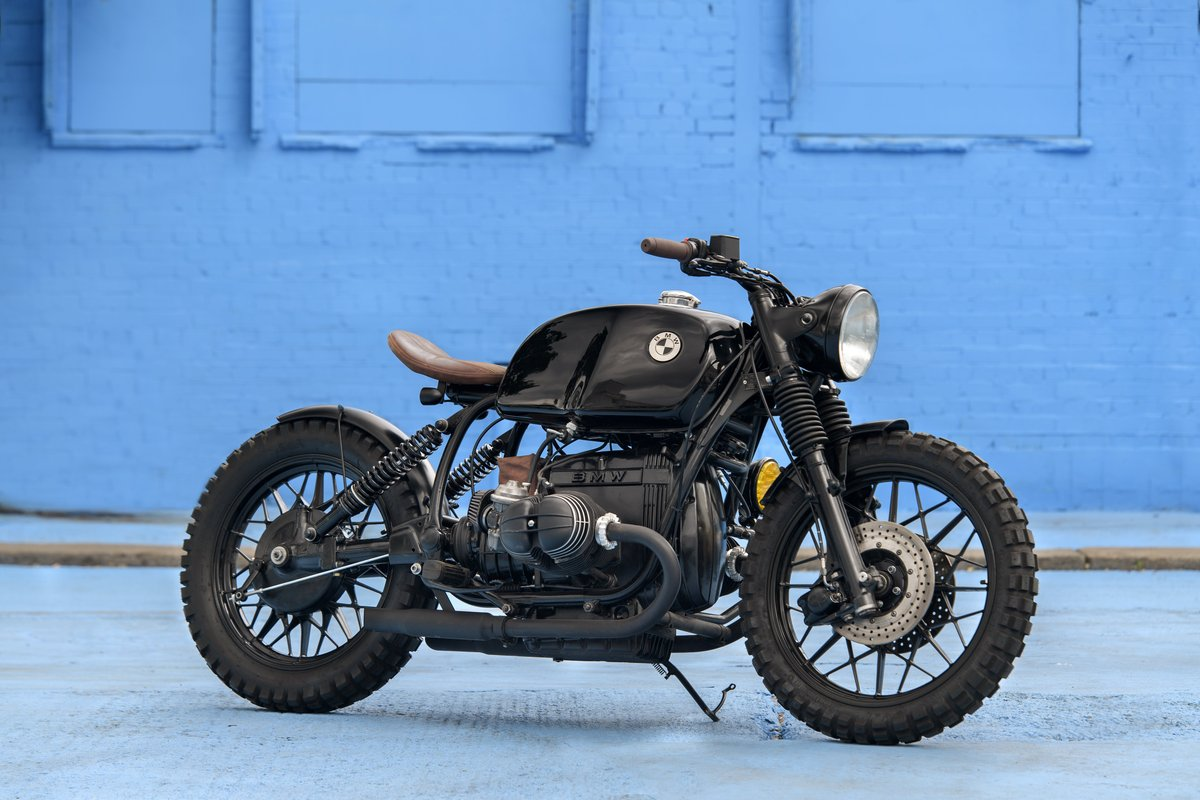 1980 BMW R80 Bobber Custom SOLD (picture 1 of 6)