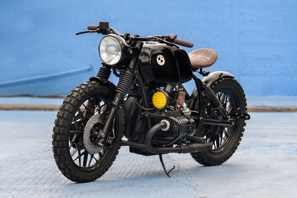1980 BMW R80 Bobber Custom SOLD (picture 2 of 6)