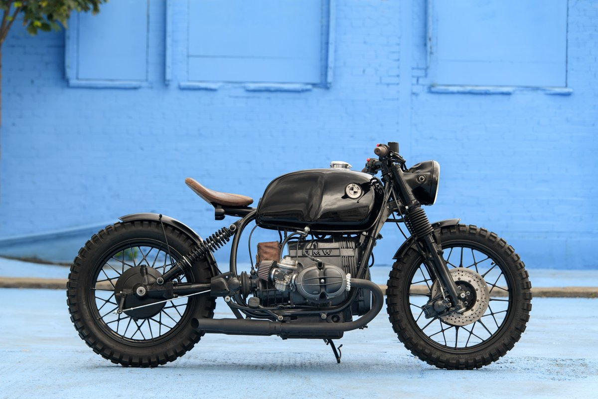 1980 BMW R80 Bobber Custom SOLD (picture 3 of 6)
