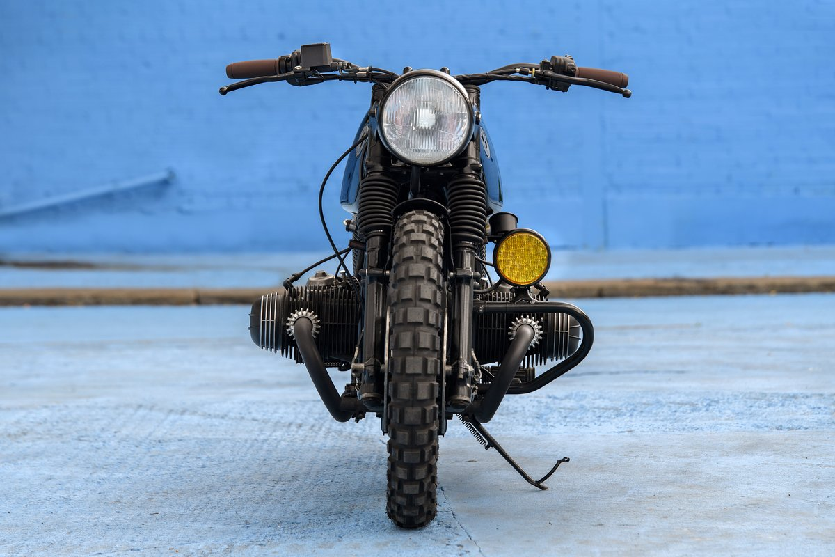 1980 BMW R80 Bobber Custom SOLD (picture 4 of 6)