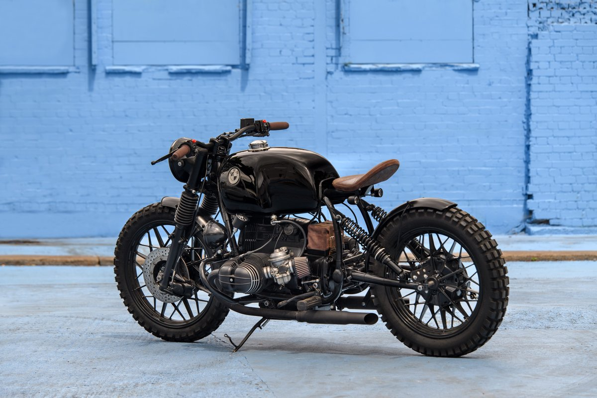 1980 BMW R80 Bobber Custom SOLD (picture 6 of 6)