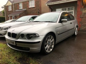 2002 BMW 316Ti Compact - Automatic - Spares or Repair For Sale
