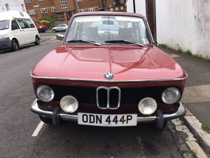 1975 BMW Classic 2002 Tii Luxury Model. For Sale