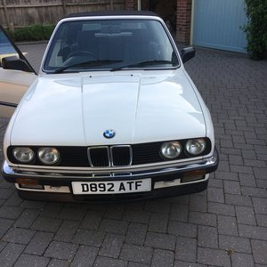 1987 BMW 325i Convertible Auto For Sale