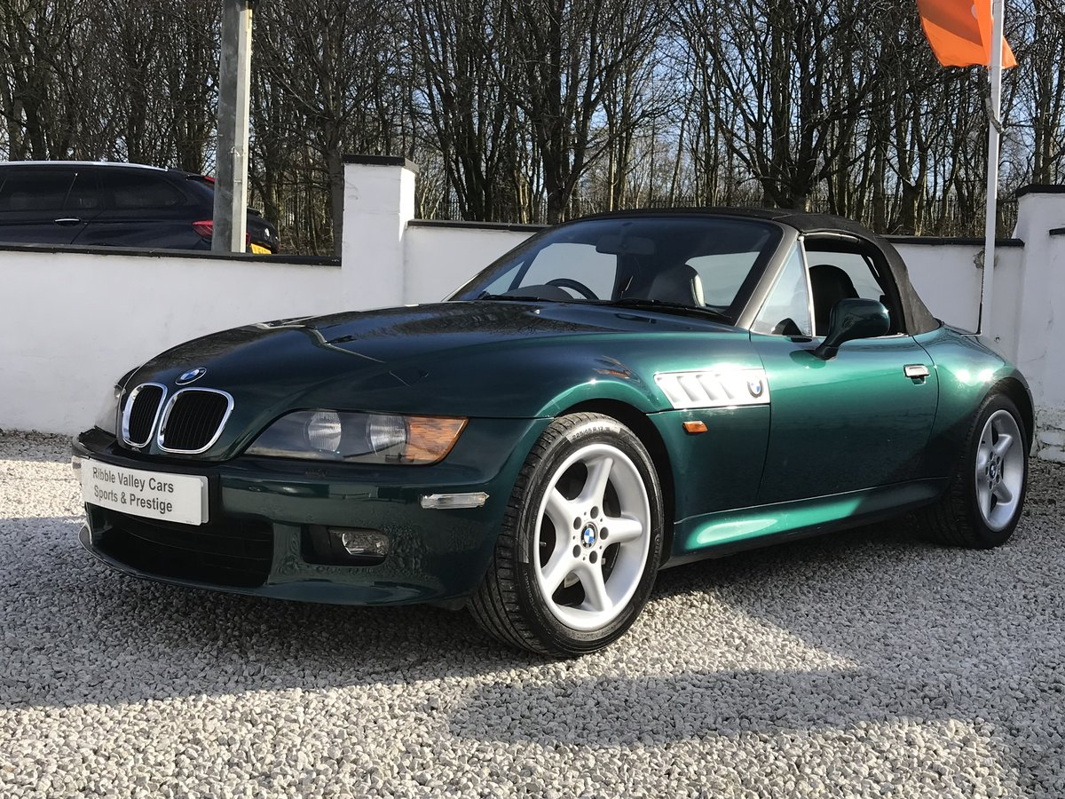 1997 Bmw z3 2.8 wide body -low mileage - fsh For Sale (picture 1 of 6)
