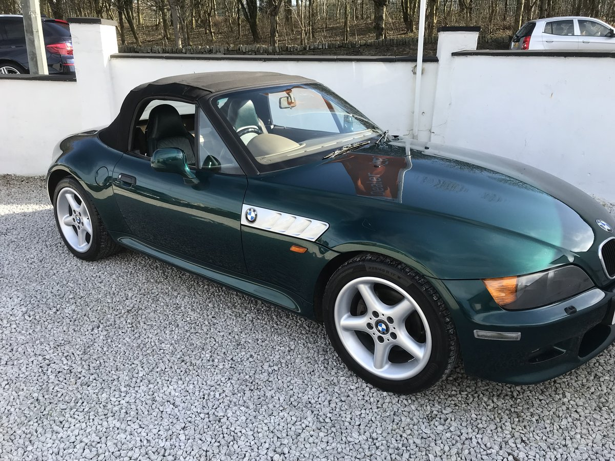 1997 Bmw z3 2.8 wide body -low mileage - fsh For Sale (picture 2 of 6)