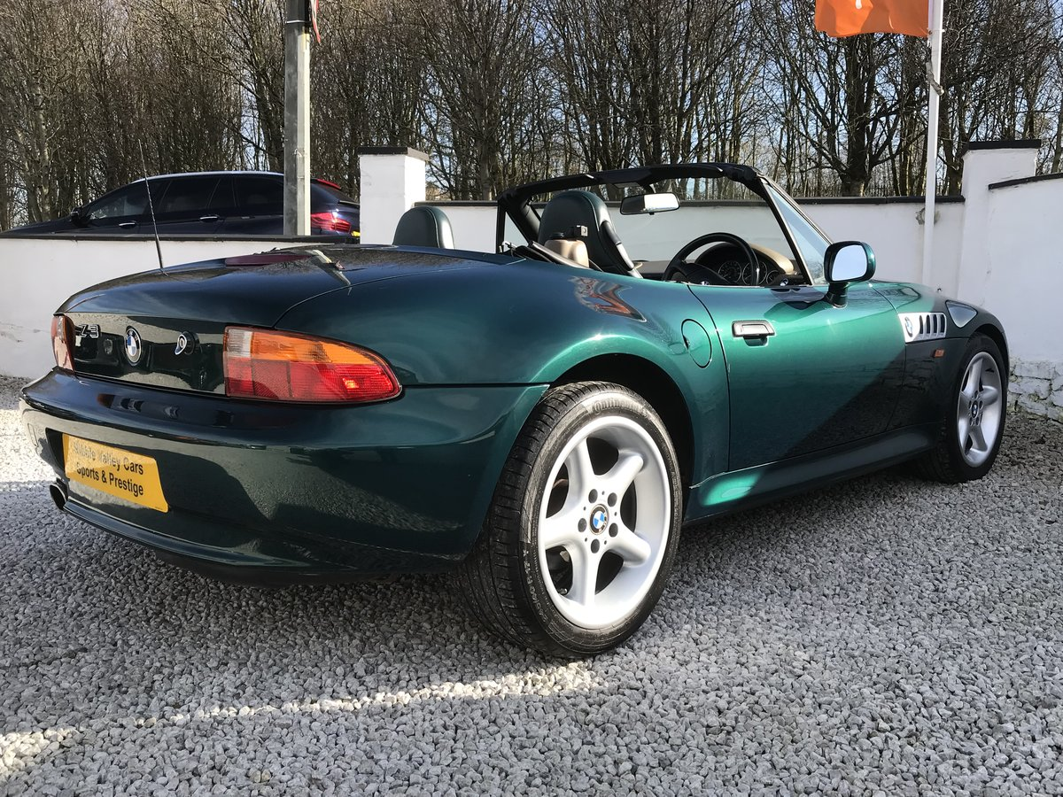 1997 Bmw z3 2.8 wide body -low mileage - fsh For Sale (picture 4 of 6)
