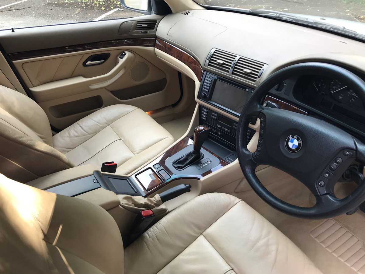 2002 Rare One Owner Import 540i HIGH LINE For Sale (picture 5 of 6)