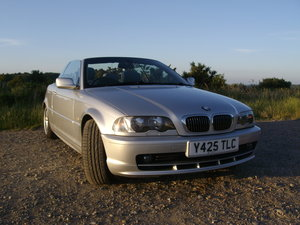 2001 BMW 320Ci M Sport Cabriolet For Sale