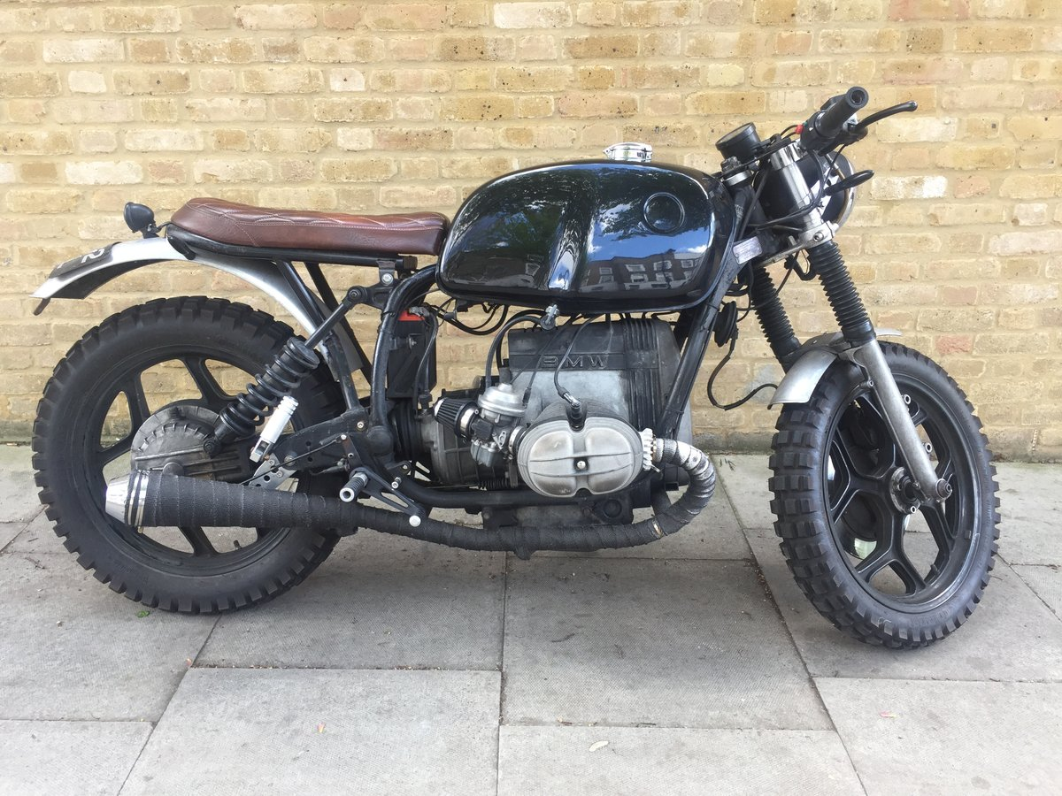 1986 Bmw r80rt scrambler ulez exempt For Sale (picture 1 of 6)