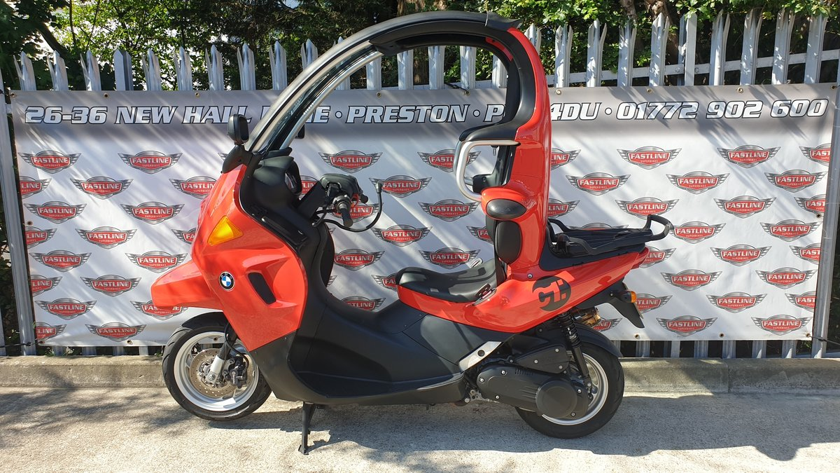 2000 BMW C1 125cc Scooter For Sale (picture 1 of 6)