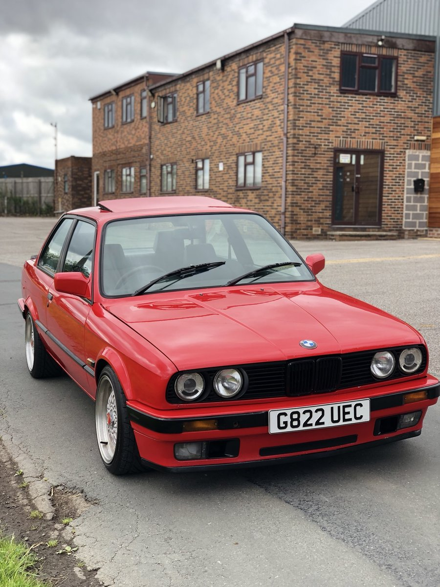 1990 BMW E30 318i manual m42b18 318is engine converted SOLD (picture 6 of 6)
