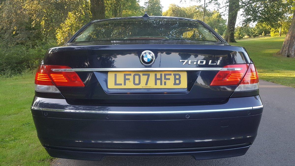2007 BMW 760li v12 limousine lwb 07  For Sale (picture 3 of 6)