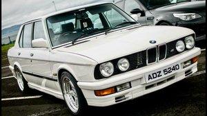 1985 1986 BMW M535i SOLD
