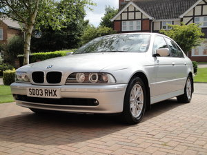 2003 BMW E39 525d SE Auto, must be seen, 60k miles, FSH