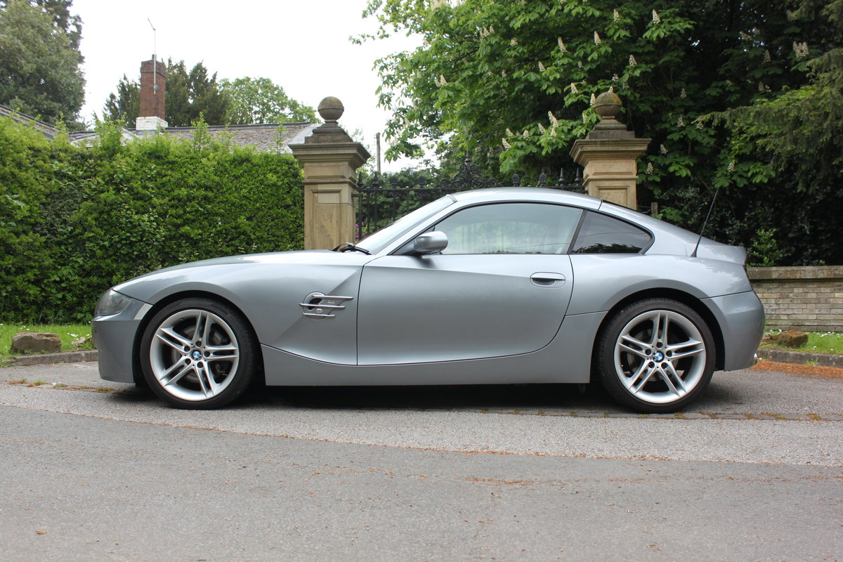 2007 BMW Z4 Coupe 3.0Si Sport Model For Sale (picture 1 of 6)