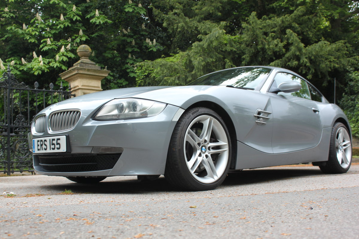2007 BMW Z4 Coupe 3.0Si Sport Model For Sale (picture 2 of 6)