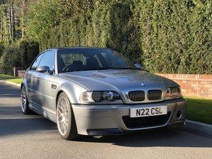 2004 BMW M3 CSL Immaculate