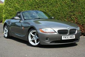 2003 BMW Z4 3.0i Auto Roadster SOLD