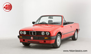 1991 BMW E30 318i Cabriolet /// Freshly Serviced /// 61k Miles For Sale
