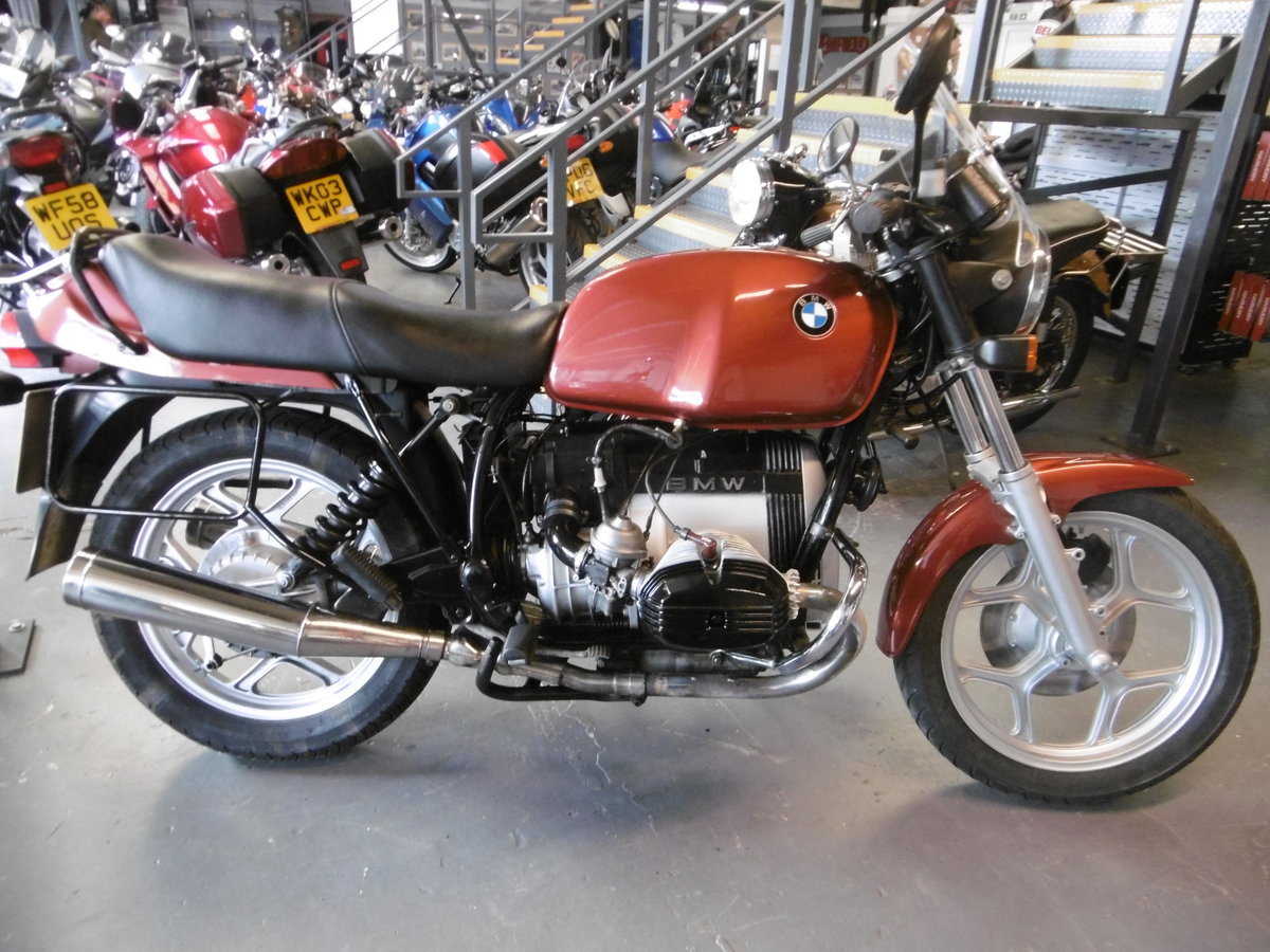 1985 BMW R80 All standard great condition  For Sale (picture 1 of 6)