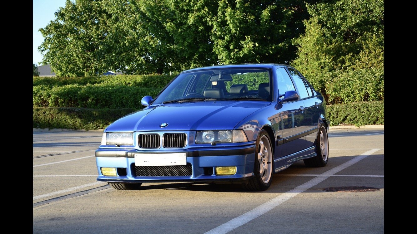 1996 BMW E36 M3 Evolution Saloon FSH For Sale (picture 1 of 6)