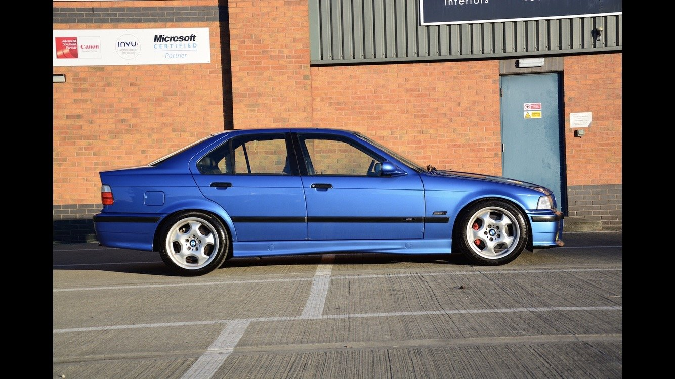 1996 BMW E36 M3 Evolution Saloon FSH For Sale (picture 2 of 6)