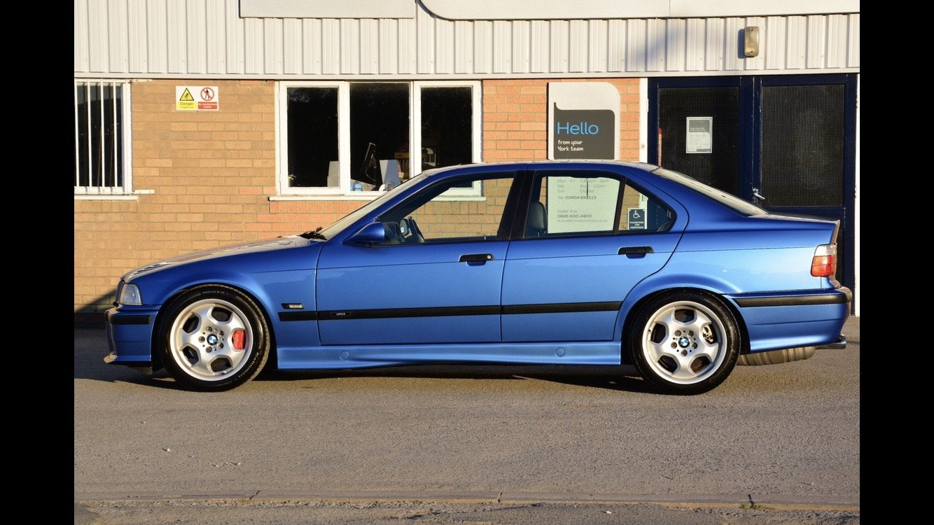 1996 BMW E36 M3 Evolution Saloon FSH For Sale (picture 3 of 6)