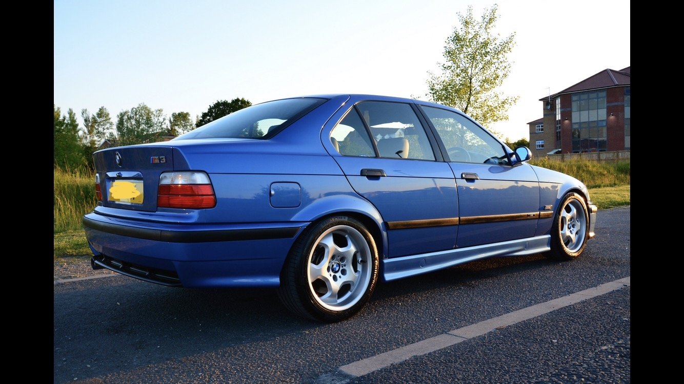 1996 BMW E36 M3 Evolution Saloon FSH For Sale (picture 4 of 6)