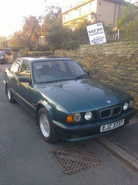 1995 BMW 525i SE Man', e34 M50 petrol For Sale (picture 1 of 6)