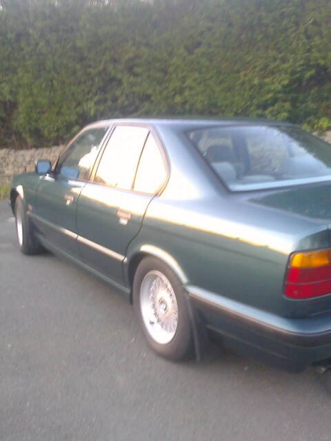 1995 BMW 525i SE Man', e34 M50 petrol For Sale (picture 4 of 6)