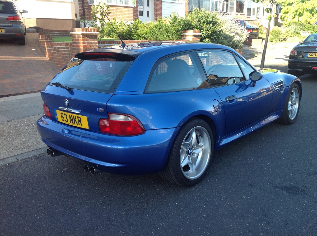 1999 BMW M COUPE  Stunning  For Sale (picture 2 of 6)