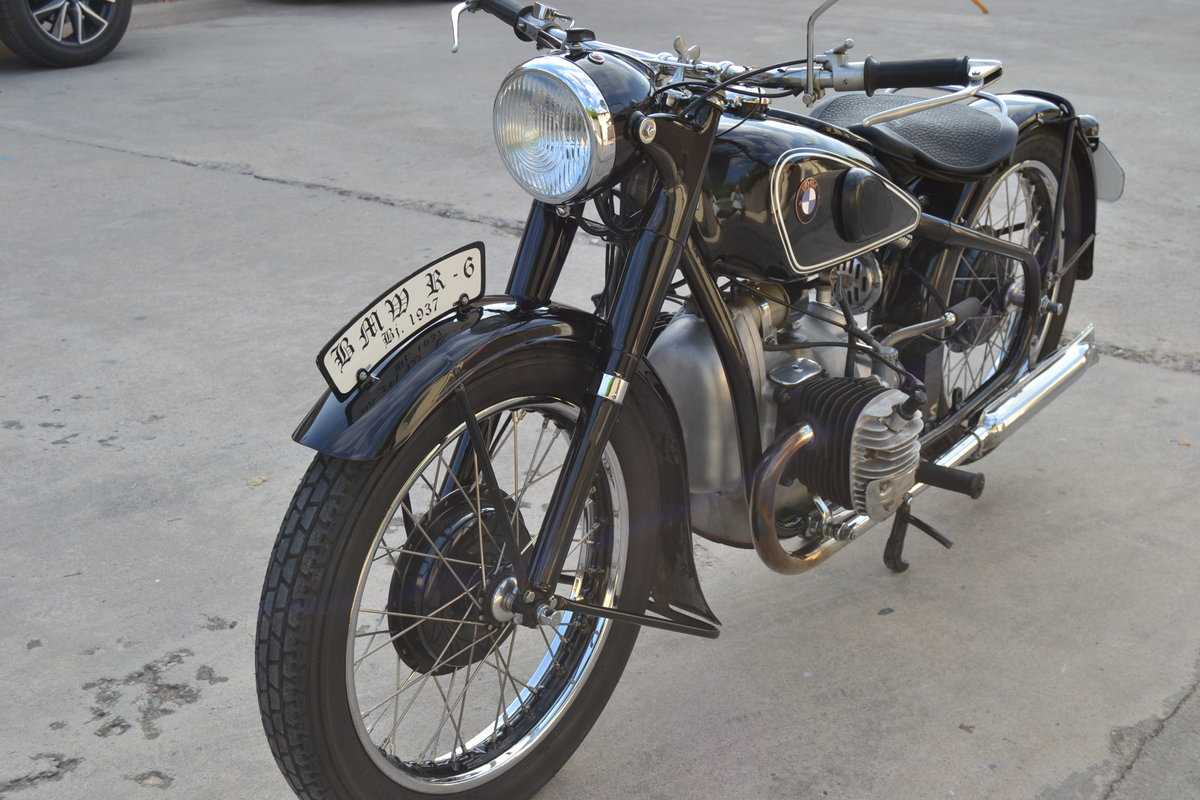 One Year Only - 1937 BMW R6 For Sale (picture 2 of 6)